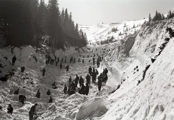 Znalezione obrazy dla zapytania lawina 20 marca 1968 roku